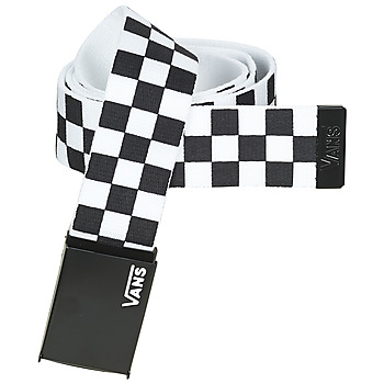 Clothes accessories Belts Vans LONG DEPSTER WEB BELT Black / White