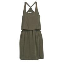 material Women Short Dresses Kaporal FIXE Kaki