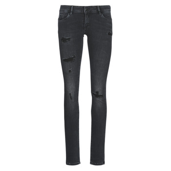 material Women slim jeans Kaporal LOKA Black