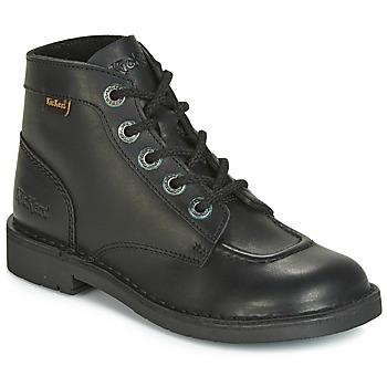 Shoes Women Mid boots Kickers KICK COL Black