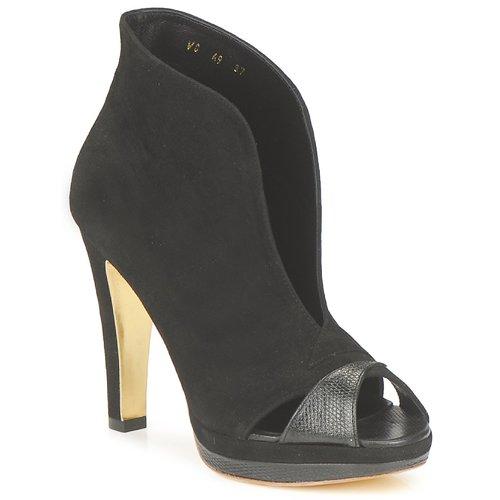 Shoes Women Low boots Gaspard Yurkievich A9-VAR7 Black