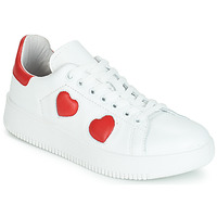 Shoes Women Low top trainers Yurban JIBOUILLE White