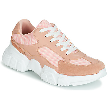Shoes Women Low top trainers Yurban JILIBELLE Pink