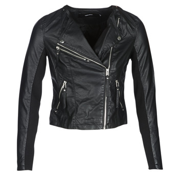 material Women Leather jackets / Imitation le Vero Moda VMRIA FAV Black