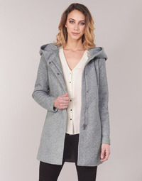 material Women coats Vero Moda VMVERODONA Grey
