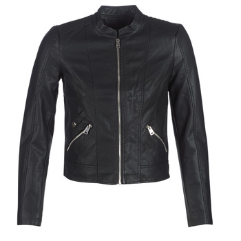 material Women Leather jackets / Imitation le Vero Moda VMKHLOE Black