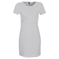 material Women Short Dresses Vero Moda VMVIGGA White / Black