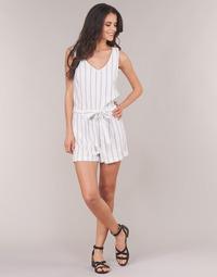 material Women Jumpsuits / Dungarees Vero Moda VMANNA White / Blue