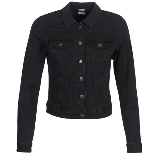 material Women Denim jackets Vero Moda VMHOT SOYA Black