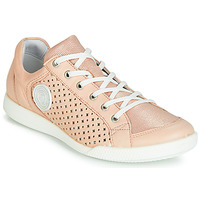 Shoes Women Low top trainers Pataugas PACHA Pink / Nude