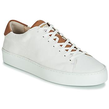 Shoes Women Low top trainers Pataugas KELLA White / Cognac