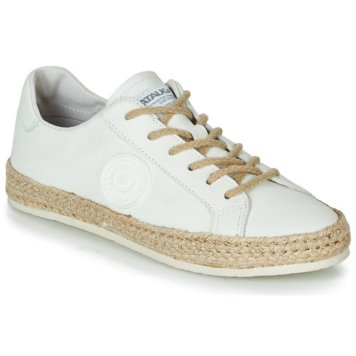 Shoes Women Low top trainers Pataugas PAM /N White