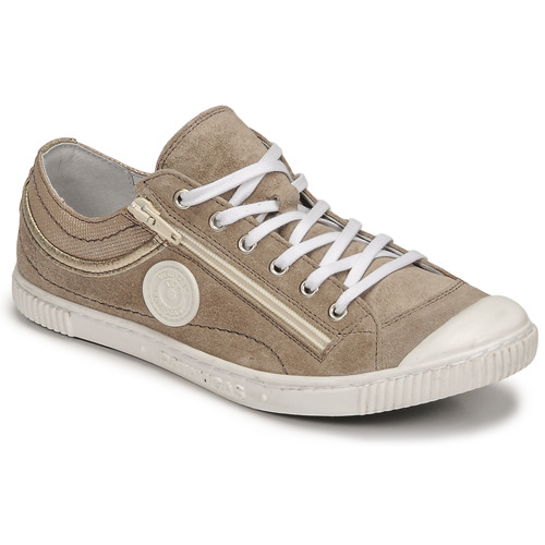 Shoes Women Low top trainers Pataugas BISK/MIX Taupe