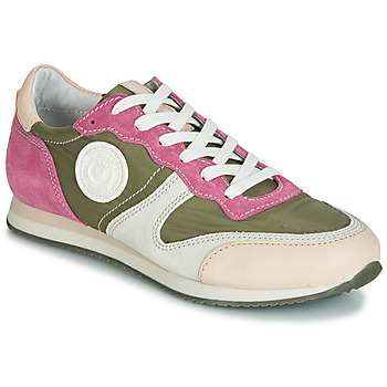 Shoes Women Low top trainers Pataugas IDOL/MIX Kaki / Violet / Beige