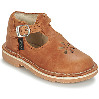 Shoes Children Ballerinas Aster BIMBO Cognac