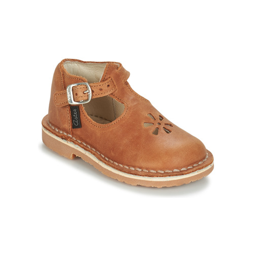 Shoes Children Ballerinas Aster BIMBO Cognac