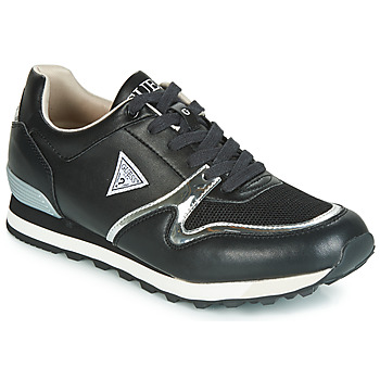 Shoes Men Low top trainers Guess NEW CHARLIE Black