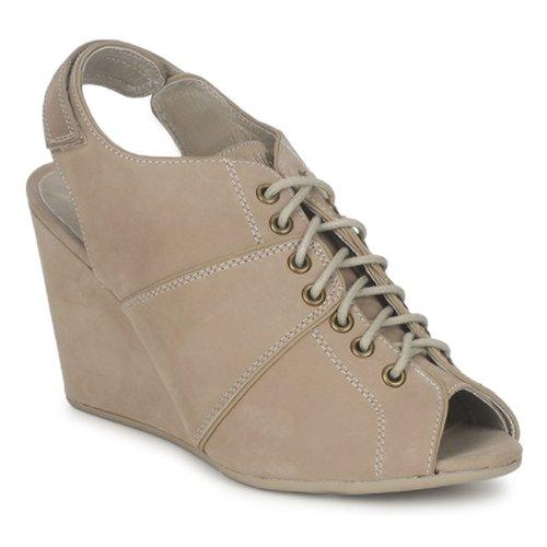 Shoes Women Low boots No Name DIVA OPEN TOE Beige