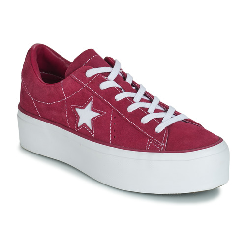 converse platform one star white
