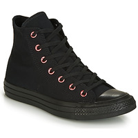 Shoes Women High top trainers Converse CHUCK TAYLOR ALL STAR HEARTS CANVAS HI Black