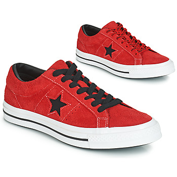 Shoes Low top trainers Converse ONE STAR DARK STAR VINTAGE SUEDE OX Red