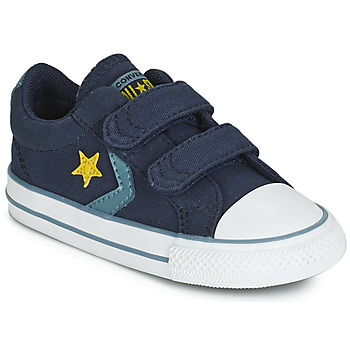Shoes Children Low top trainers Converse STAR PLAYER 2V CANVAS OX Blue