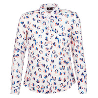 material Women Shirts One Step SYLVIA White / Multicolour