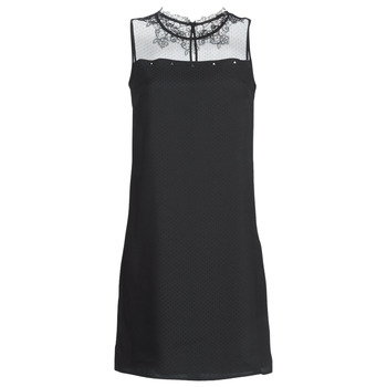 material Women Short Dresses One Step TINA Black