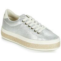 Shoes Women Low top trainers No Name MALIBU Silver
