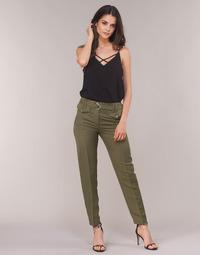 material Women 5-pocket trousers Ikks BN22125-56 Kaki