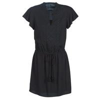 material Women Short Dresses Ikks BN30035-02 Black