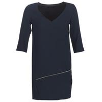 material Women Short Dresses Ikks BN30305-49 Marine