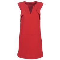 material Women Short Dresses Ikks BN31075-36 Red