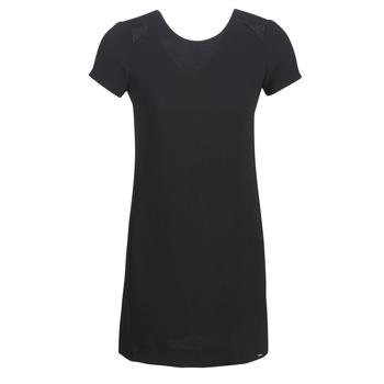 material Women Short Dresses Ikks BN30105-02 Black
