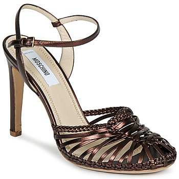 Shoes Women Sandals Moschino MA1603 Ebony