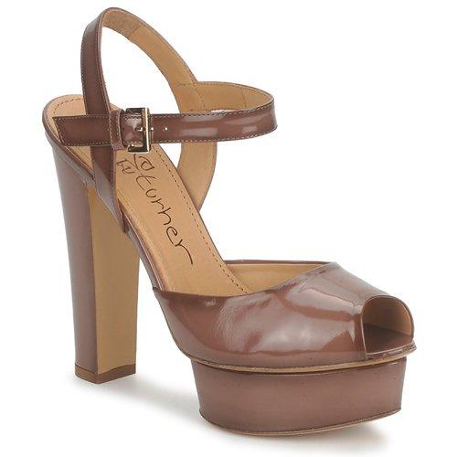Shoes Women Sandals Eva Turner ERSILIA Brown