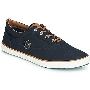 Shoes Men Low top trainers Bugatti TUPANI Blue