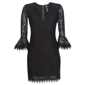 material Women Short Dresses Guess LARINA Black