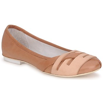 Shoes Women Ballerinas Marithé & Francois Girbaud BOOM Cognac