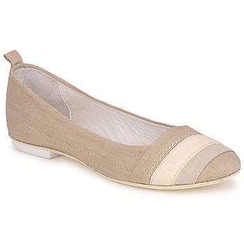 Shoes Women Ballerinas Marithé & Francois Girbaud BRUMES BEIGE