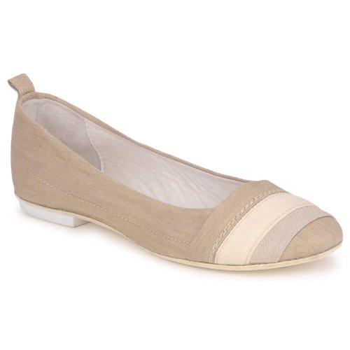 Shoes Women Ballerinas Marithé & Francois Girbaud BRUMES Beige