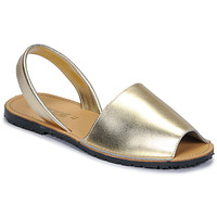 Shoes Women Sandals So Size LOJA Gold