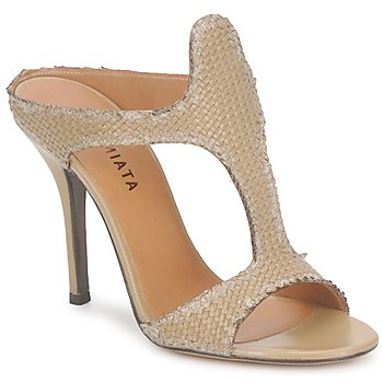 Shoes Women Mules Premiata 2821 LUCE Ocra