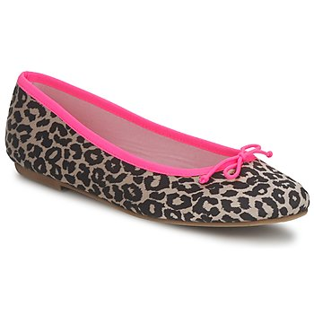 Shoes Women Ballerinas Cara NEONLEOPARD Leopard