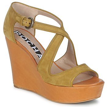 Shoes Women Sandals Rochas RO18131 Brown