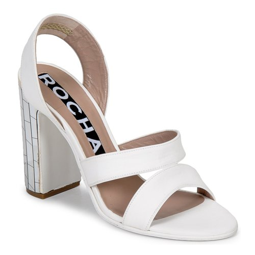 Shoes Women Sandals Rochas RO18244 White