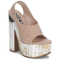 Shoes Women Sandals Rochas RO18175 Tabacco
