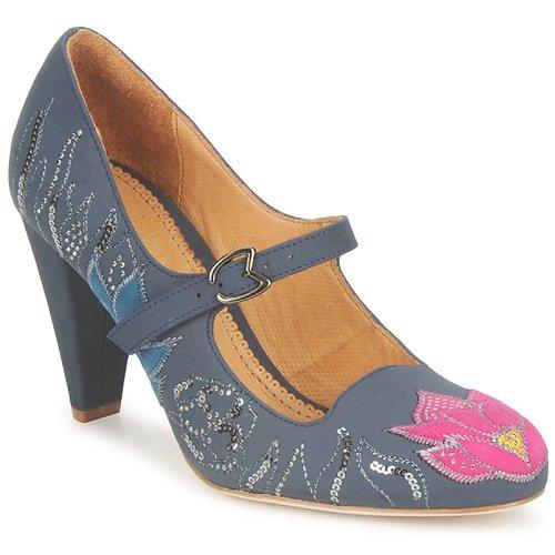 Shoes Women Court shoes Maloles CLOTHILDE Grey / Pink