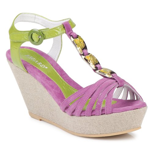 Shoes Women Sandals Regard RAFAZA Violin / Green