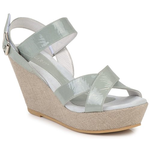 Shoes Women Sandals Regard RAGA Green / Pale